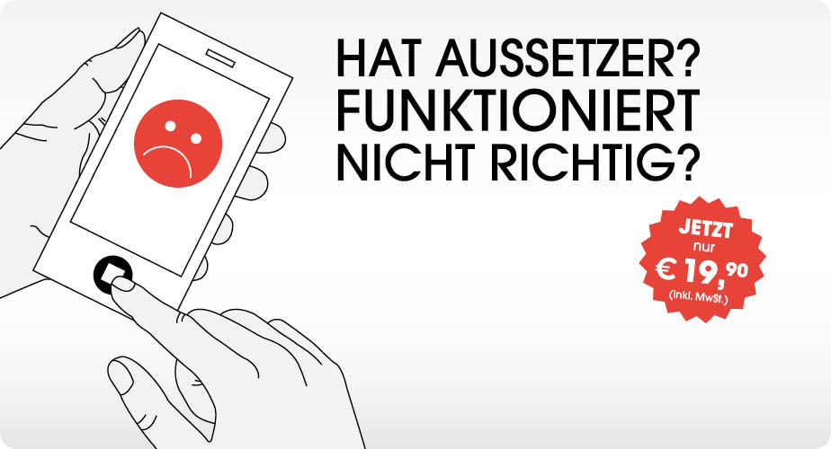 PP DE iFixTheButton Smart Phone Button Funktioniert Nicht Richtig